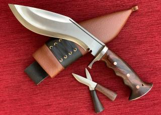Hand-forged Gurkha  Iraq Operation Khukuri Khukri Kukrri Kukri Knife 8 inch Full Tang